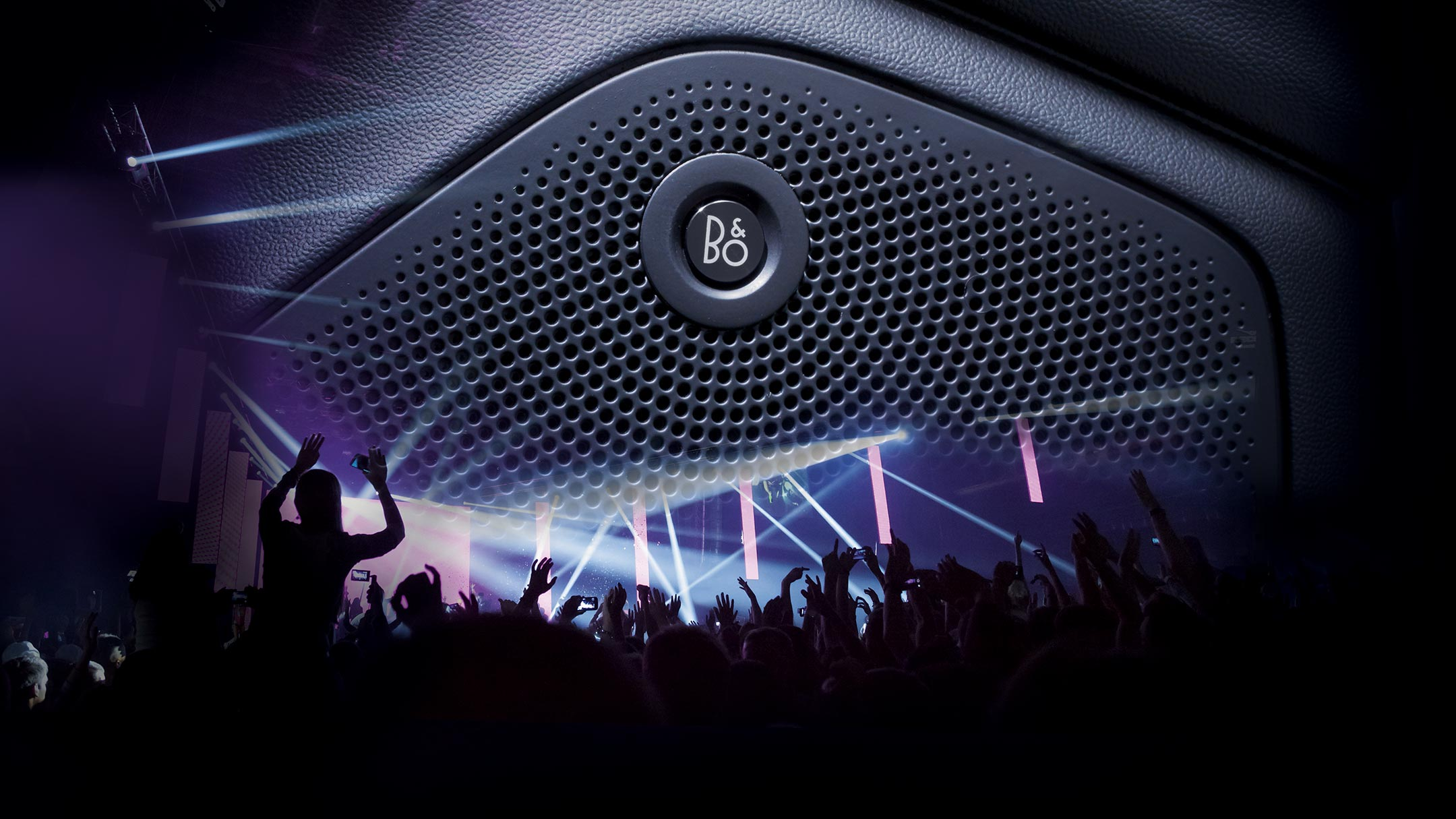 B&O sound system graphic